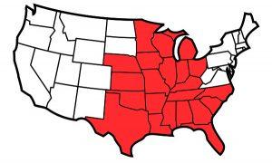 SGL Territory Map